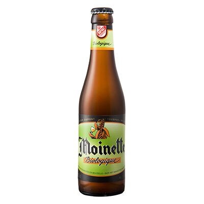5410702000539 Moinette Bio - 33cl Bottle conditioned organic beer (control BE-BIO-01)