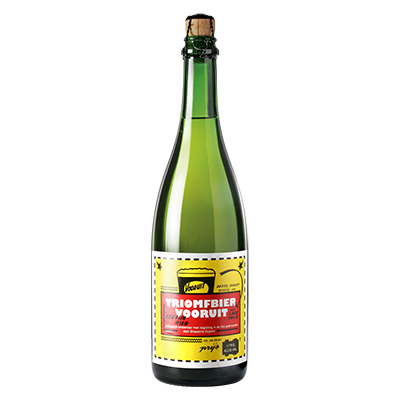 5410702001352 Triomfbier Vooruit - 75cl Bottle conditioned organic beer (control BE-BIO-01)